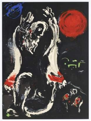 "Marc Chagall ""Isaiah"" original Bible lithograph"