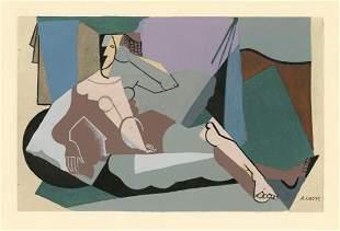 Andre Lhote 1929 Cubist pochoir