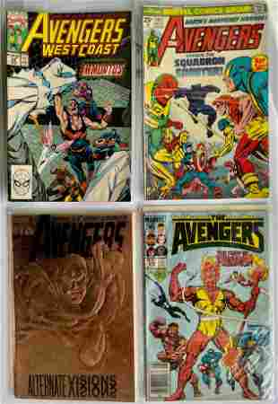THE AVENGERS KEY COLLECTOR SET