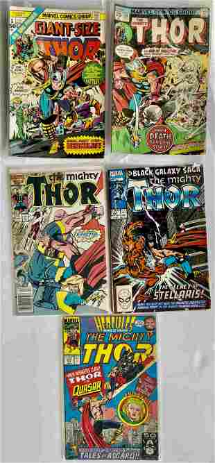 THE MIGHTY THOR SET