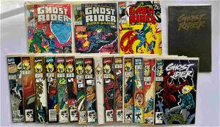 THE GHOST RIDER KEY COLLECTOR SET