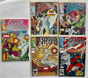 THE SILVER SURFER KEY COLLECTOR SET