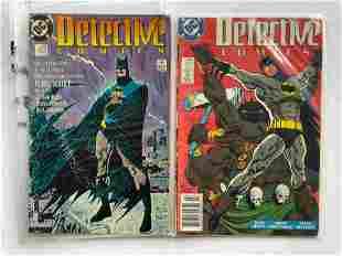 DETECTIVE COMICS #600, #602