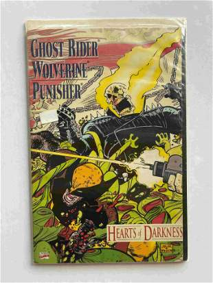 GHOST RIDER HEARTS OF DARKNESS BOOK