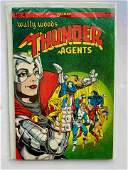 Thunder Agents #4 1986 Deluxe Comics Wally Wood's