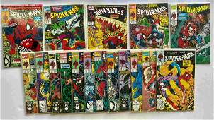 THE AMAZING SPIDER-MAN COLLECTOR SET ! 1-17