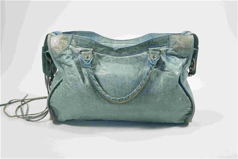 Balenciaga Classic City Bag in Blue