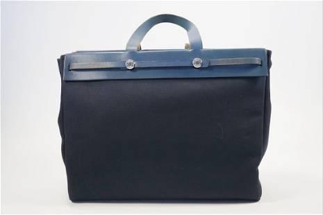 Hermes Cabasmm Ale Bag Blue