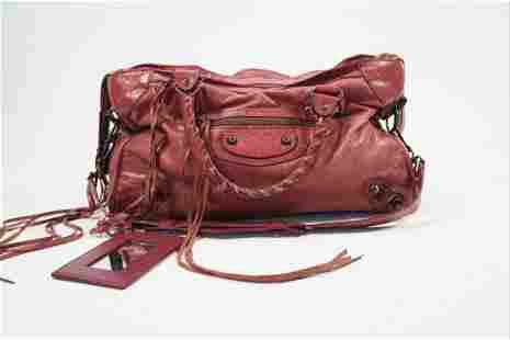 Balenciaga Classic City Bag in Rust