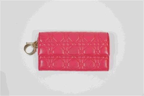 Dior Charms Pink Wallet