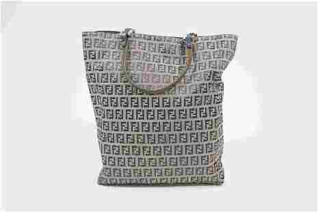 Fendi Zucchino Tote Bag
