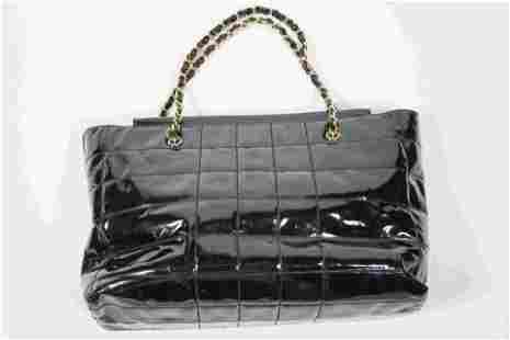 Chanel Patent Leather Tote
