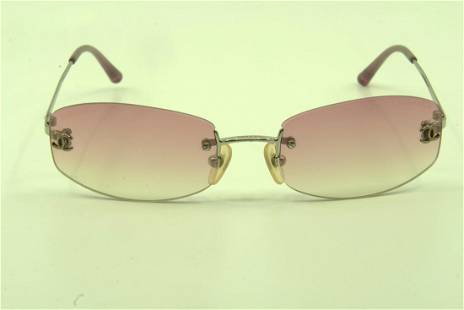 Chanel Pink Fade Square Sungalsses