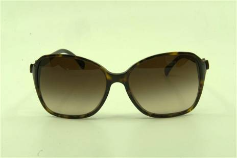 Chanel Tortiose Shell Ribbon Sunglasses