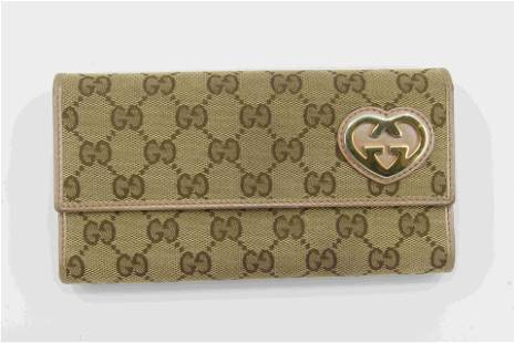 Gucci Monoram Wallet