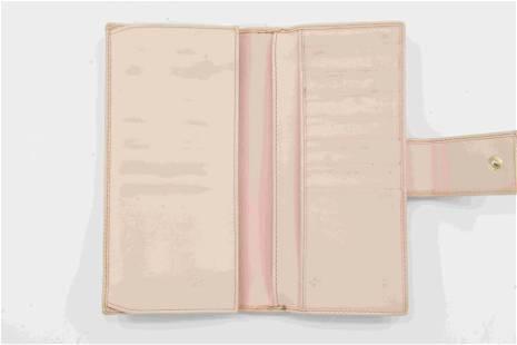 Pink Gucci Monogram Ring Wallet