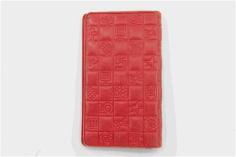 Chanel Pink Lambaskin Wallet