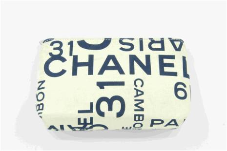 Chanel Patent Leather Coin Pouch
