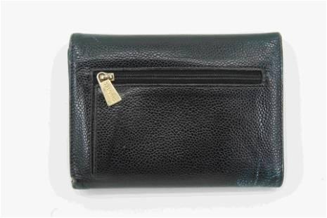 Chanel Black Caviar Wallet
