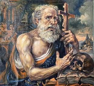 Oil painting St. Peter Alexander Arkadievich Litvinov
