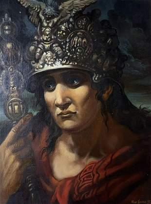 Oil painting Antique portrait Alexander Arkadievich