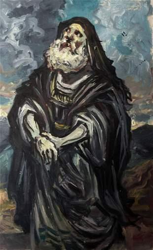Oil painting Moses Alexander Arkadievich Litvinov