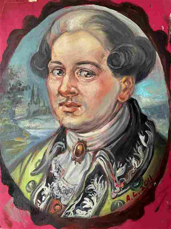 Oil painting Favorite Alexander Arkadievich Litvinov