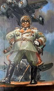 Oil painting Goering Alexander Arkadievich Litvinov