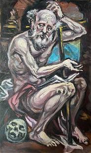 Oil painting Prophet Alexander Arkadievich Litvinov