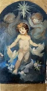 Oil painting Amur Alexander Arkadievich Litvinov