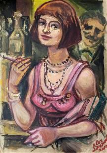 Oil painting Suitor Alexander Arkadievich Litvinov