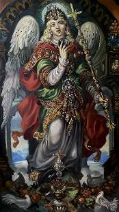 Oil painting Angel Alexander Arkadievich Litvinov