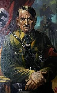 Oil painting Fuhrer Alexander Arkadievich Litvinov