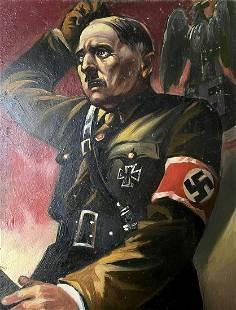 Oil painting Hitler portrait Alexander Arkadievich