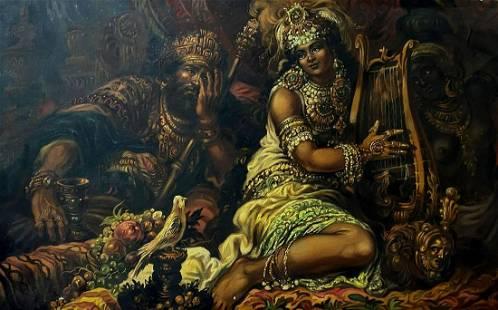 Oil painting Solomon Alexander Arkadievich Litvinov