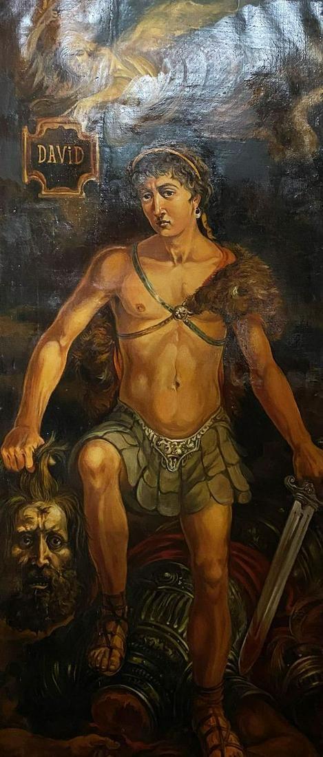 Oil painting David Alexander Arkadievich Litvinov
