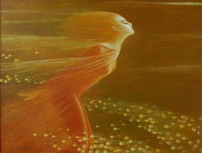 Oil painting Star wind Titinin Yurii