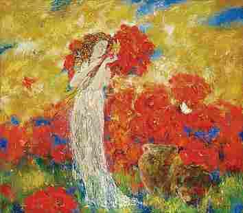 Oil painting Summer Titinin Yurii