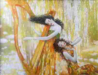 Oil painting Duo Titinin Yurii