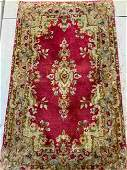 Hand Knotted Persian Kermen 3.2x2 ft .Free Shipping