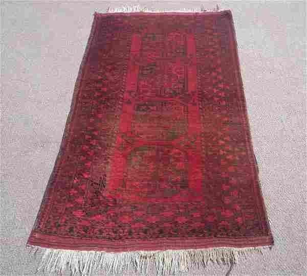 Afghan Turkman Design 3.8x5.10