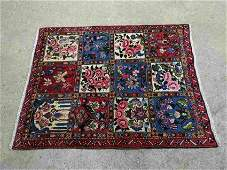 Hand Knotted Persian Sarouk Rug 5.2x3.5 ft .Free