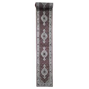 Wool and Silk 250 Kpsi Tabriz Mahi Hand-Knotted XL