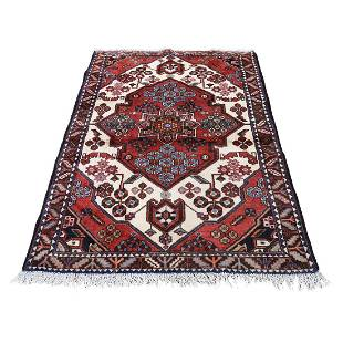 New Persian Mazlagan Hand-Knotted Oriental Pure Wool