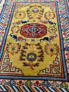 Hand Knotted Chinise 2.5x5 ft .Free Shipping