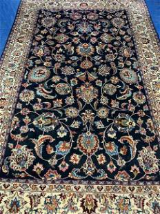 Hand Knotted Persian Tabriz 6.5x9.5 ft .Free Shipping