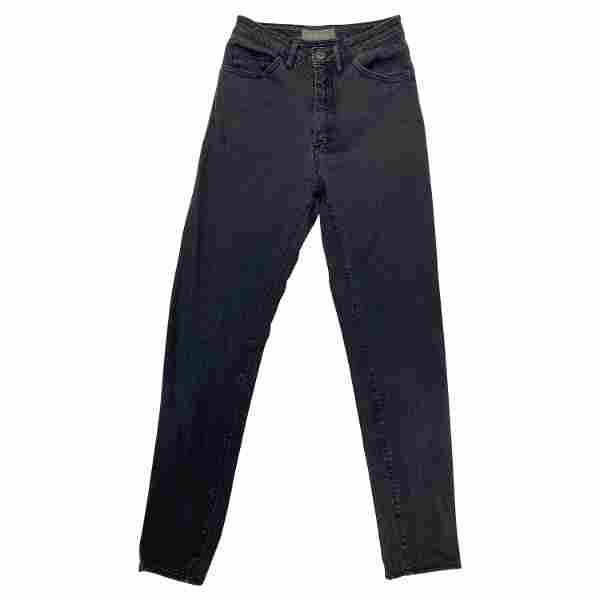Acne Jeans Grey Skinny Denim Pants, Size 29/ 34