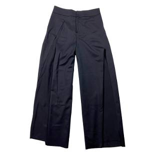 Undercover Navy Wool and Silk Trousers Pants, Size 2