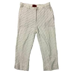 Vintage Missoni White Capri Pants