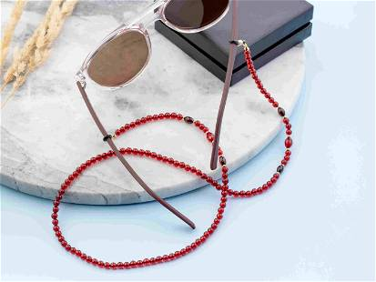 Glasses Chain from Natural Amber
